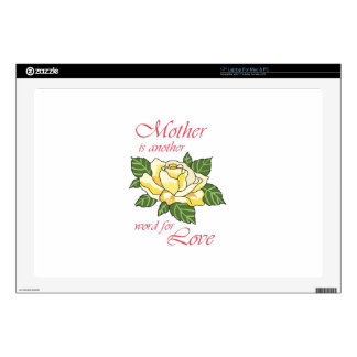 "MOTHER... 17"" LAPTOP DECAL"