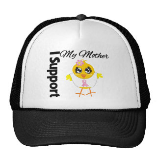 Mother Support Breast Cancer Trucker Hats