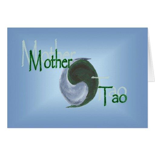 Mother Tao Yin Yang Greeting Card