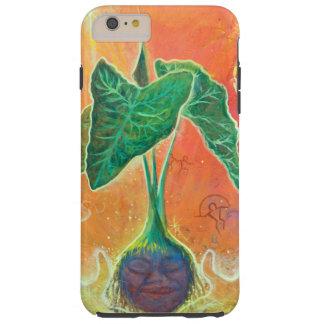 Mother Taro on Orange Background Tough iPhone 6 Plus Case