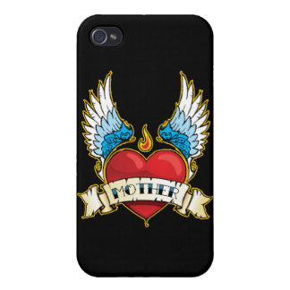 Mother Tattoo iPhone Case