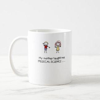 Mother Taught Me Medical Science Mug