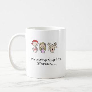 Mother Taught Me Stamina Mug