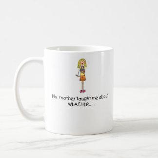 Mother Taught Me Weather Mug