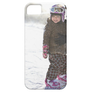 Mother Teaching Daughter To Snowboard iPhone SE/5/5s Case