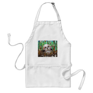 Mother Teresa quote finding God.jpg Adult Apron