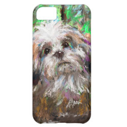 Case-Mate Barely There iPhone 5C Case with Shih Tzu Phone Cases design