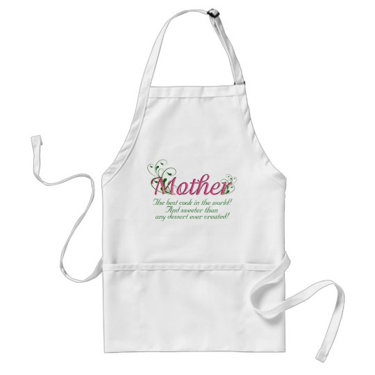 Mother - The best cook in the world Apron