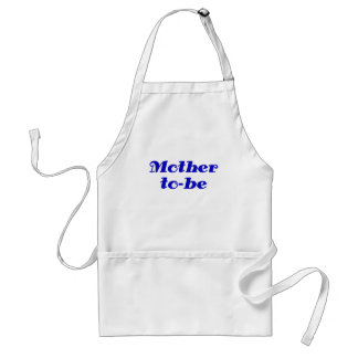 Mother to be adult apron