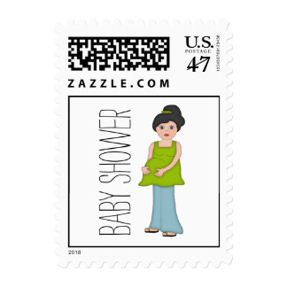 Mother-to-Be Baby Shower Postage