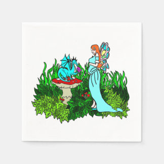 Mother To Be Pregnant Magical Faerie Napkin