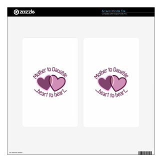 Mother To Daughter Kindle Fire Skin