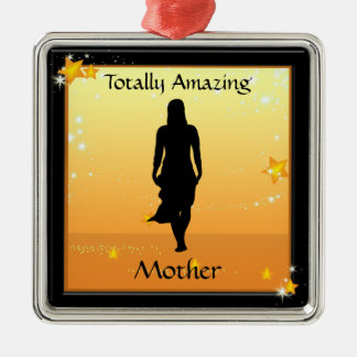 Mother Totally Amazing Woman Premium Ornament