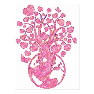 Mother_Tree Tarjeta Postal