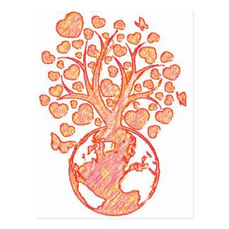 Mother_Tree Tarjetas Postales