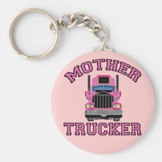 Mother Trucker Keychain