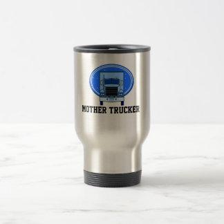 Mother Trucker Truck Travel Mug