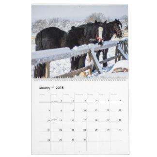 "Mother Udder Farm ""Inside the Barn"" 2018 Calendar"