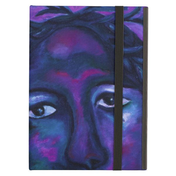 Mother Watching All Abstract Red Violet Compassion Case For iPad Air