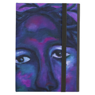 Mother Watching All Abstract Red Violet Compassion iPad Air Case
