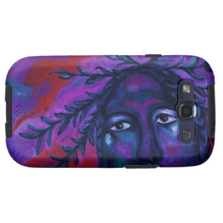 Mother Watching All – Crimson & Violet Compassion Galaxy S3 Cases