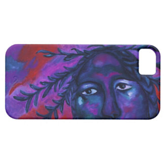 Mother Watching All – Crimson & Violet Compassion iPhone 5 Covers