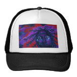 Mother Watching All – Crimson & Violet Compassion Mesh Hat