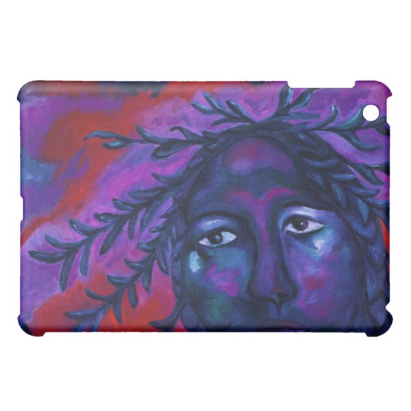 Mother Watching All – Crimson & Violet Compassion iPad Mini Cases