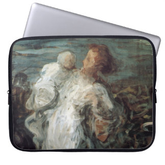 """""""Mother with Child"""" laptop sleeves"""