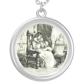 Mother With Children Pendant