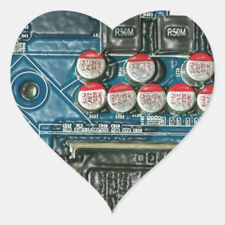 Motherboard Art.jpg Heart Sticker