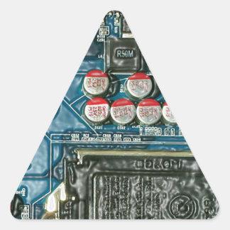 Motherboard Art.jpg Triangle Sticker
