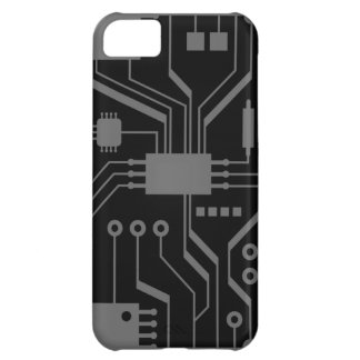 Motherboard Black and Gray iPhone 5 Case