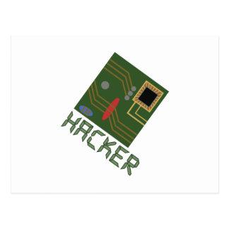 Motherboard Hacker Postcard