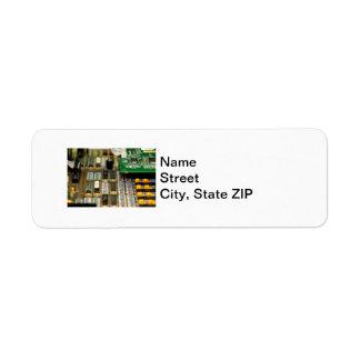 Motherboard Custom Return Address Labels