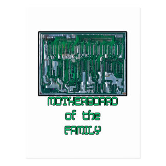 Motherboard of the Family Postcard