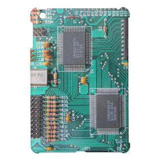 Motherboard photo, computer nerd iPad mini case