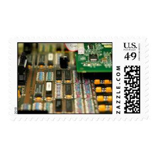Motherboard Postage Stamps