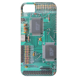 Motherboard: printed circuit board photo iPhone SE/5/5s case