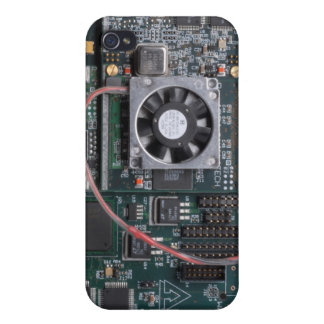 Motherboard with fan iPhone 4/4S case