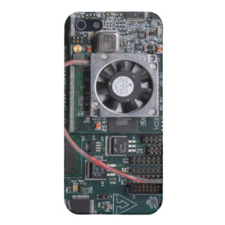 Motherboard with fan iPhone 5 cover