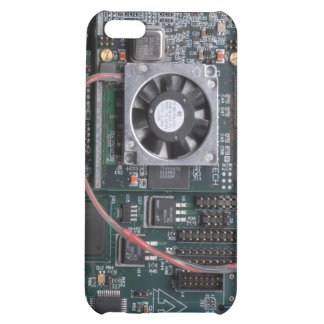 Motherboard with fan iPhone 5C case
