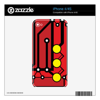 Motherbox iPhone Skin Decals For iPhone 4S