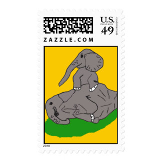 motherellieandbaby2 postage stamps
