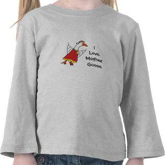 mothergoose, ganso de ILoveMother Camisetas