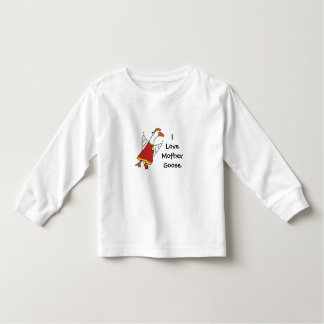 mothergoose, ILoveMother Goose Toddler T-shirt