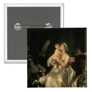 Motherhood, 1805 2 inch square button