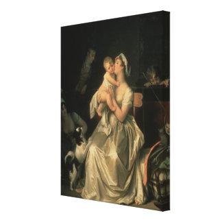 Motherhood, 1805 canvas print