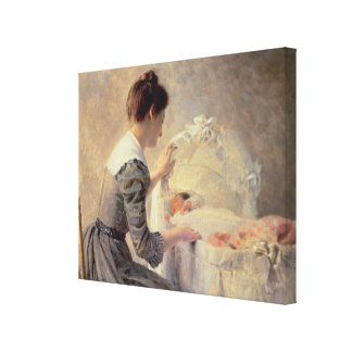 Motherhood, 1898 canvas print
