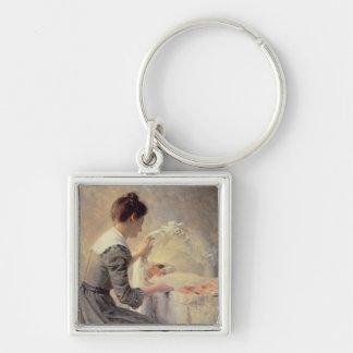 Motherhood, 1898 key chain